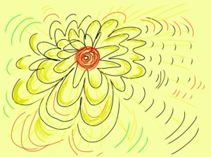 Click image to go to the Flowerdoodle2 image on the Thousand Sketches site
