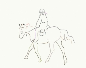 Click image to go to the Horse image on the Thousand Sketches site