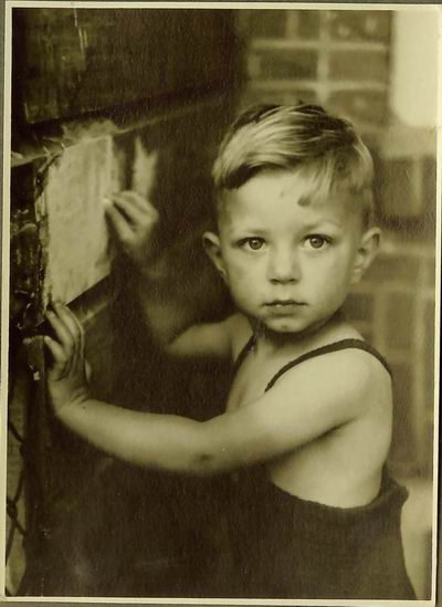 Walter Logeman aged 3